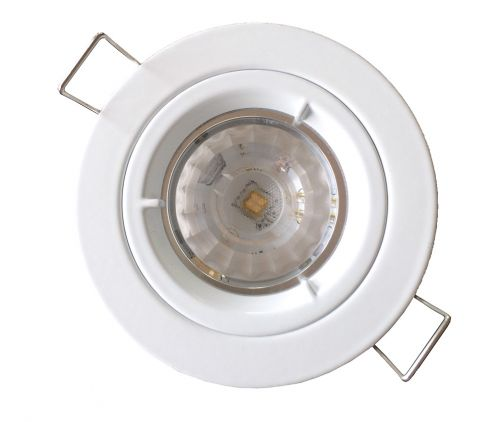 OGL LED nonglare downlight kit (CD-series) fixes fitting with black cable/rectangular connector and external driver