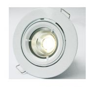 OGL LED nonglare downlight kit (CD-series) gimbals fitting with black cable/rectangular connector and external driver