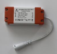 LED Driver for current model LED downlights CS and CD series with white cable/round connector