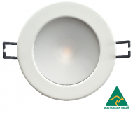 Saturn 100 (CS-series) downlight with white cable/round connector and  external driver